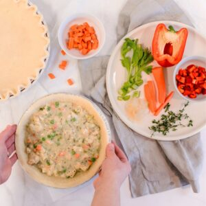 Freezer Meals - Chicken Pot Pie